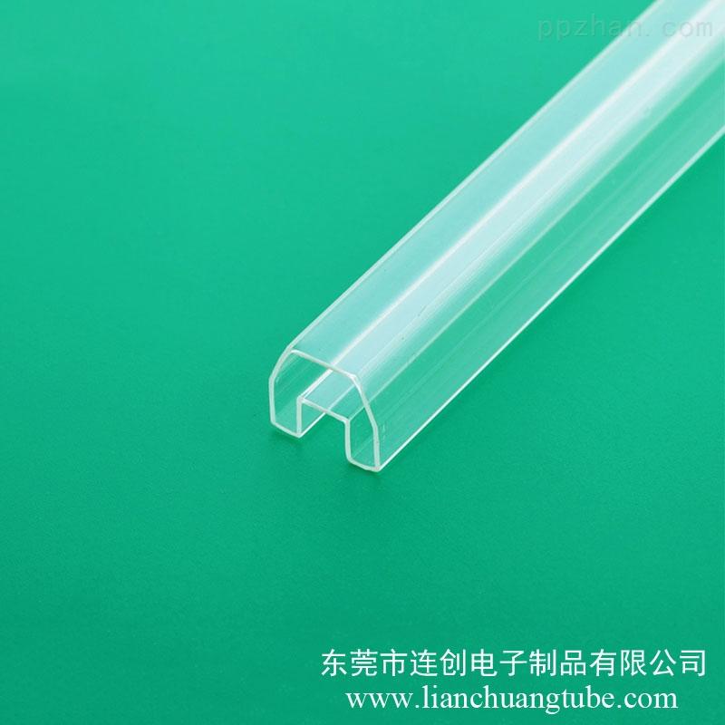 透明塑料方管出售ic角座包装管马达电机料管
