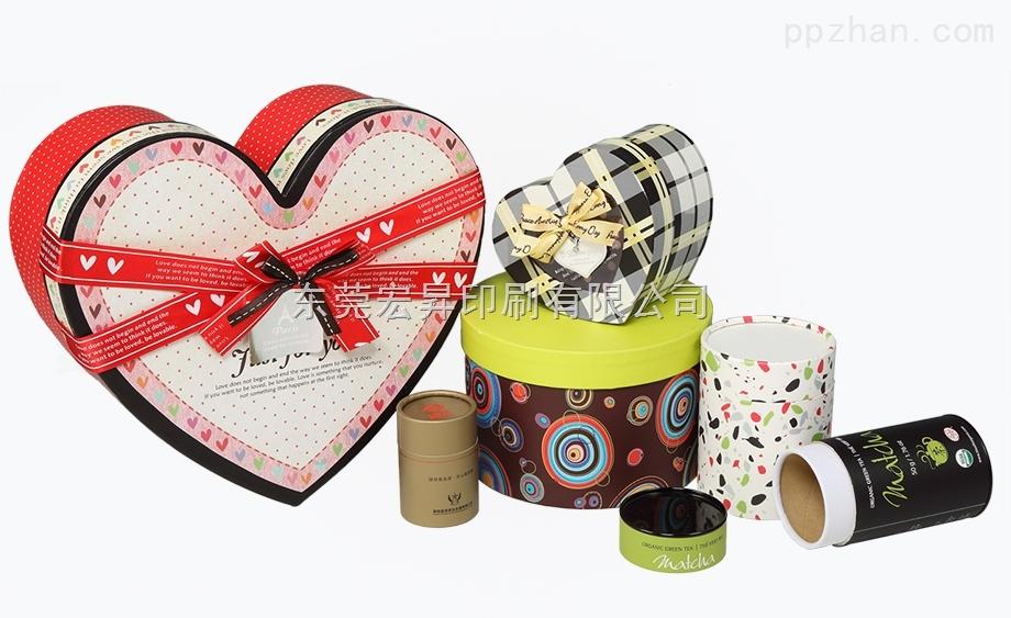 厂家定制各类爱心礼品盒糖果盒