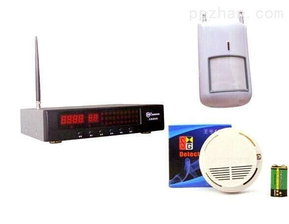 无线烟雾报警器套装联网消防火灾烟感报警器系统烟感器联动型主机