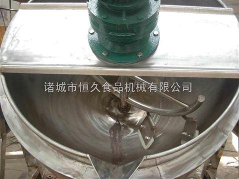 全自动可倾式夹层锅 学校食堂专用不锈钢夹层锅