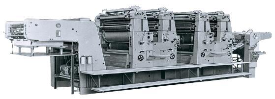 胶印机 从串联设计向机组设计的改变